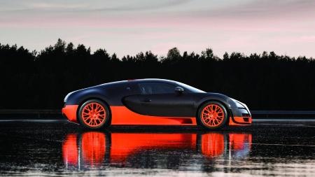 Guinness tước danh hiệu của siêu xe Bugatti Veyron Super Sport