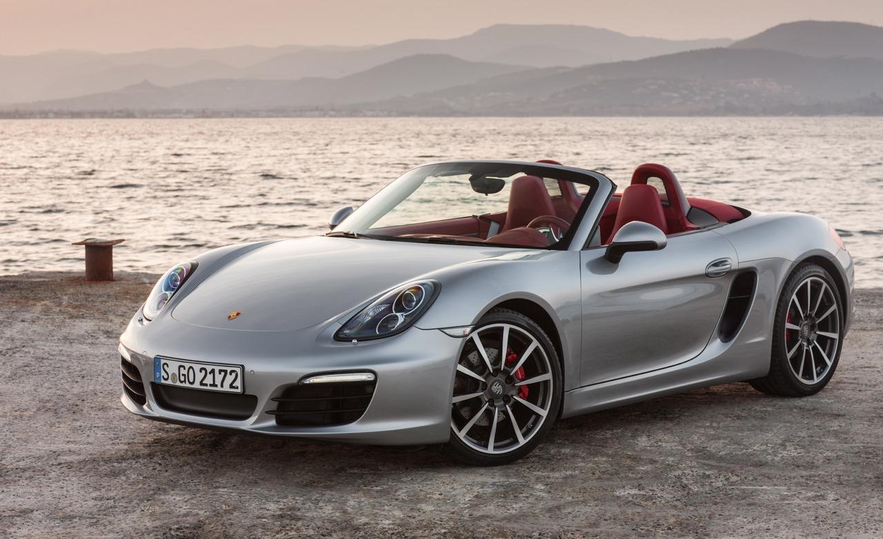 Porsche Boxster và Cayman nhận giải '2013 World Performance Car'