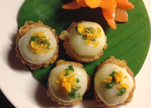 Bánh ít ram, bánh cam Sài Gòn gợi nhớ hương quê