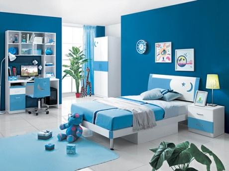 Nội thất xanh dương cho nhà mát lạnh