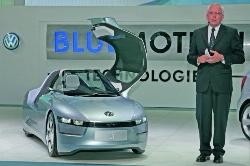 Cận cảnh Volkswagen concept 1lít/100km