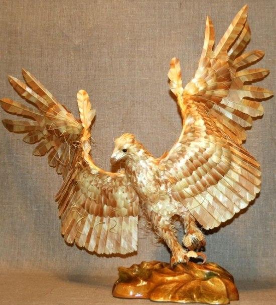"""Tác phẩm """"Chim đại bàng"""" được trả giá tới 17.000 USD"""