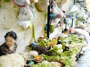Tỷ lệ nhiễm giun cao do thói quen ăn rau sống